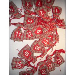 Adventskalender Set 24...